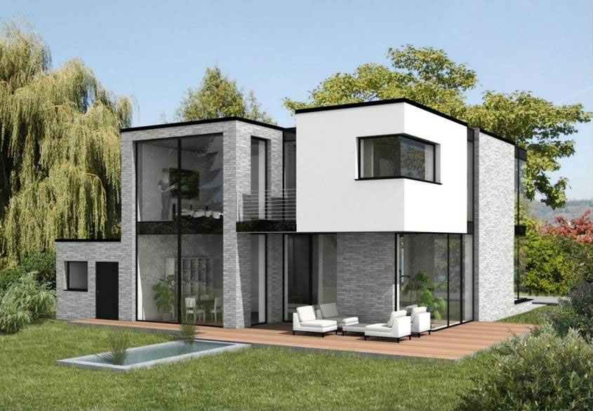 Arcon render studio galerie for Exterieur maison 3d